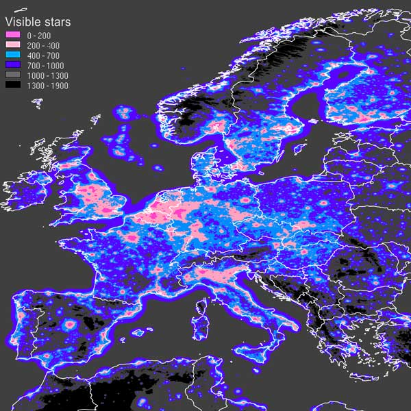 Europe lights [GIF] [1024x740] : MapPorn